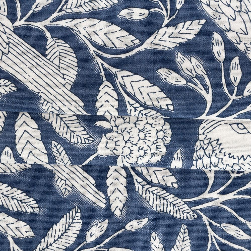 Tippi, an indigo blue and off white flora toile print from Tonic Living