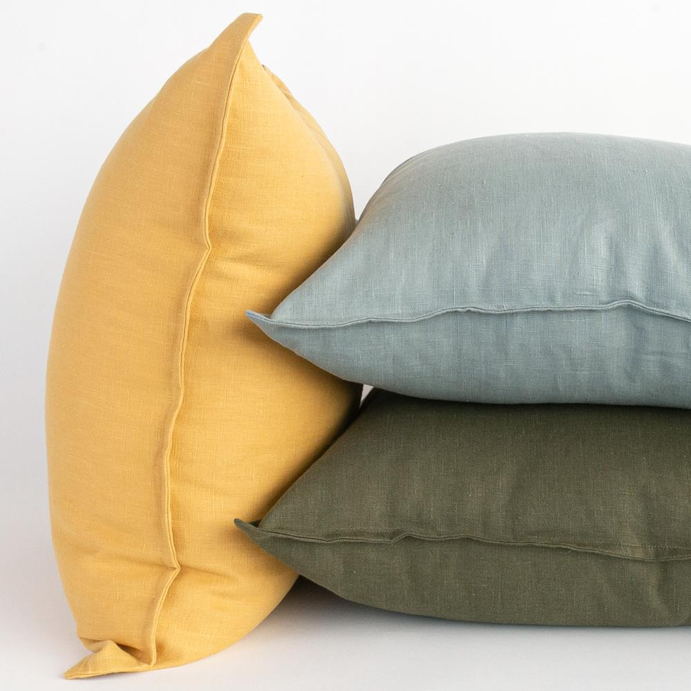 Tuscany linen pillow collection from Tonic Living