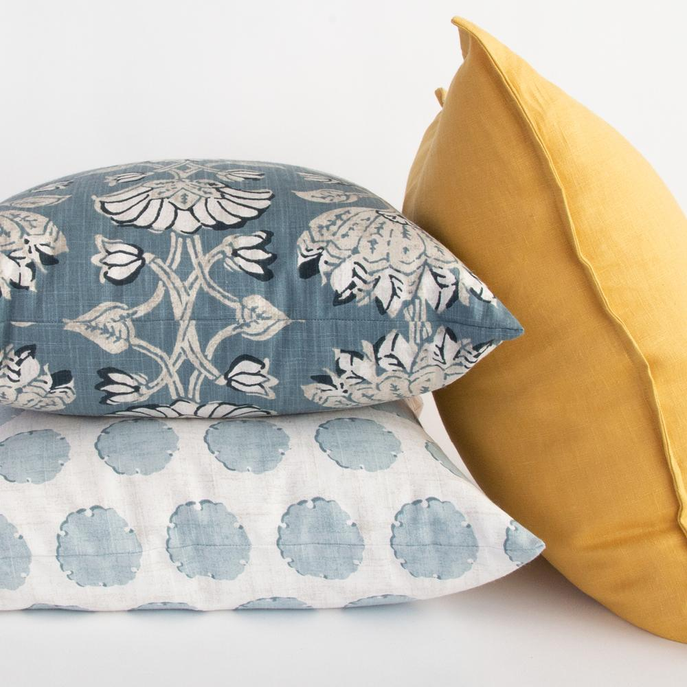 Fresh and bright pillow combo from Tonic Living
