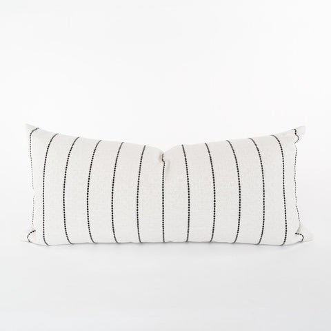 Toulouse, Onyx (Extra Long) lumbar from Tonic Living