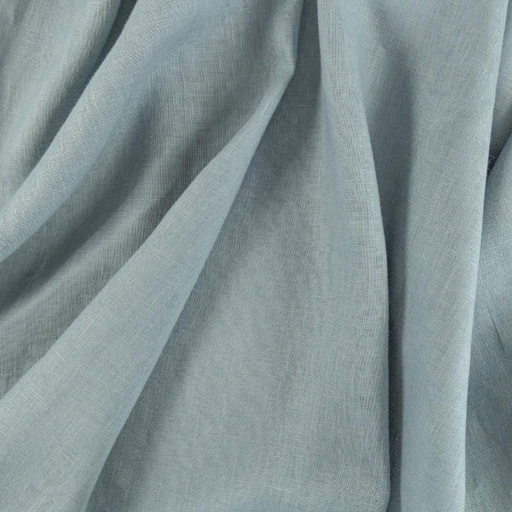 Tuscany Linen, Lake, a muted gray blue linen from Tonic Living