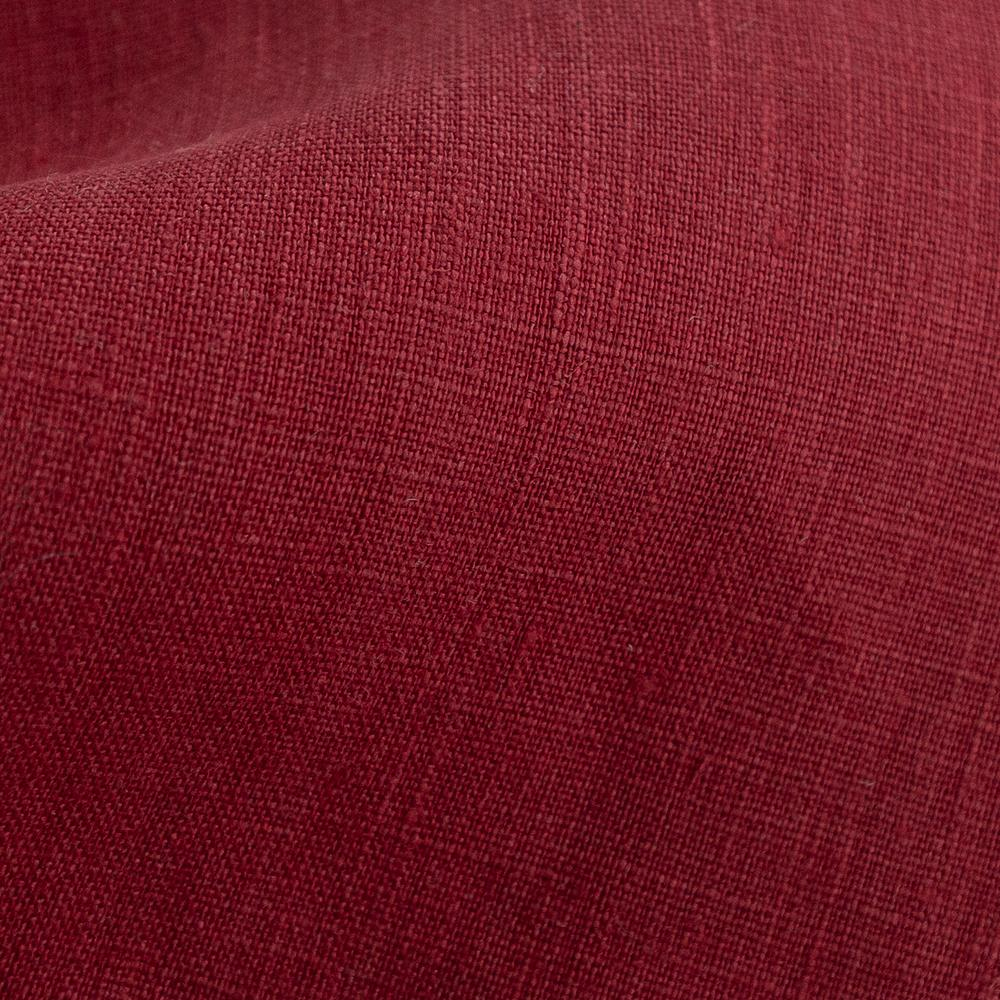 Tuscany Linen, scarlet burgundy red from Tonic Living