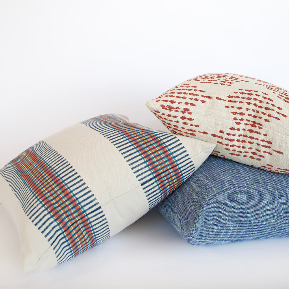Outdoor pillows by Tonic Living
