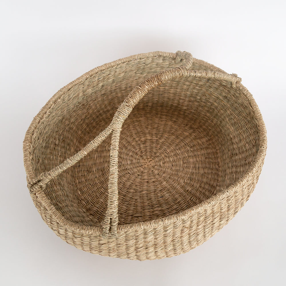 Sunday market seagrass basket from Tonic Living