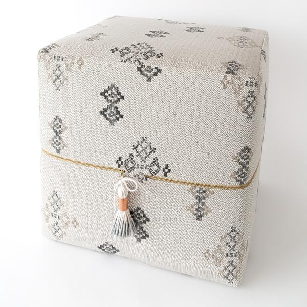 Austin cube ottoman, Putty, by Tonic Living