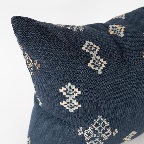 Austin indigo navy southwestern pillow from Tonic Living