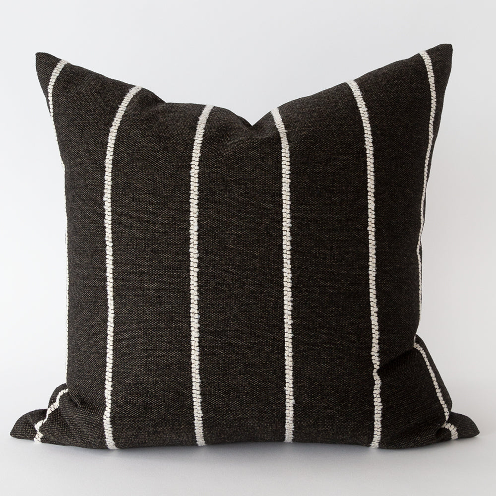 Avalon black stripe pillow from Tonic Living