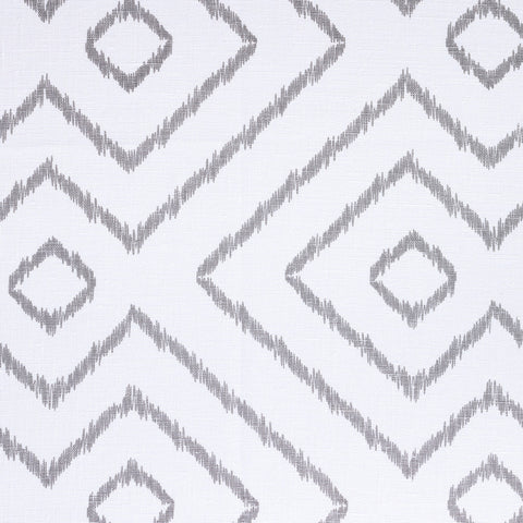 Baraka Ikat, Grey - [Product_type] - Tonic Living