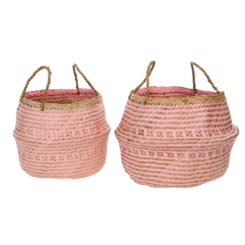 Belly Basket, Pink - [Product_type] - Tonic Living