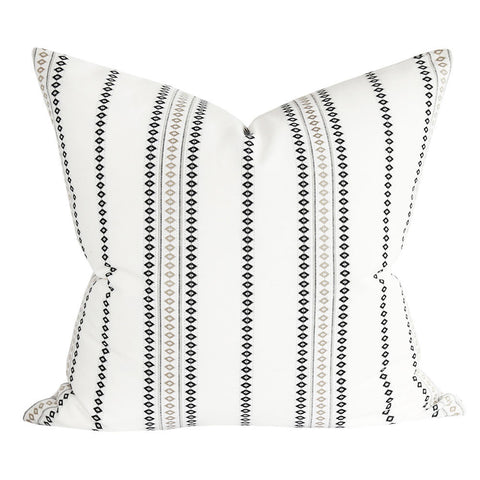 Boho Stripe, White