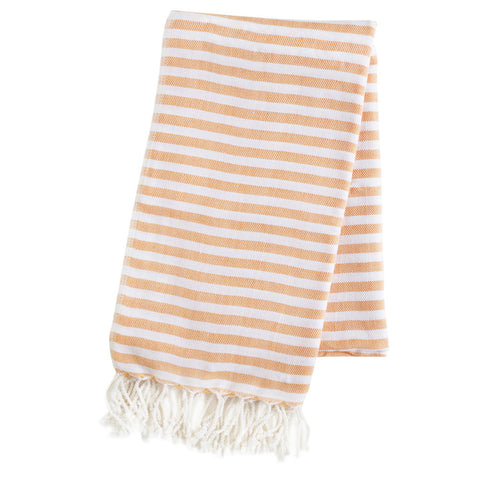 Turkish Towel  - Cabana, Tangerine