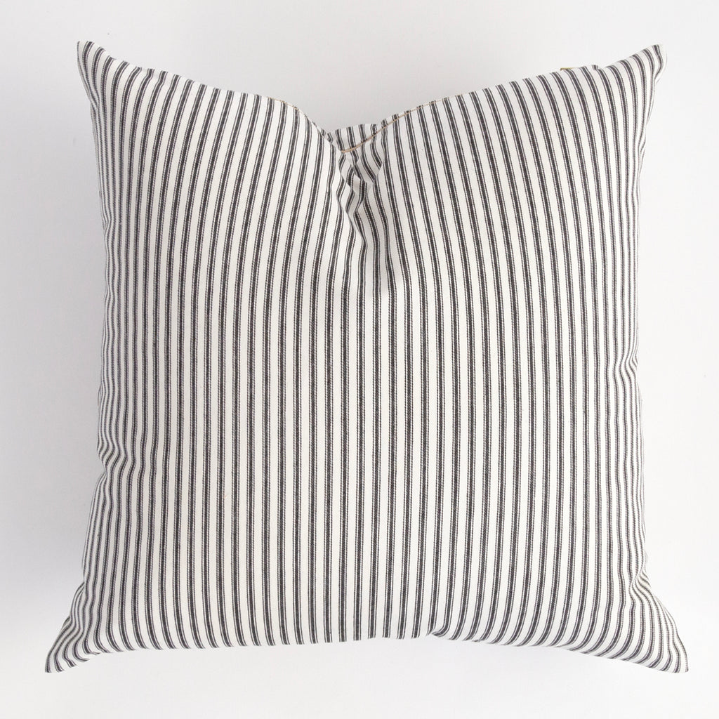 Classic Ticking pillow from Tonic Living