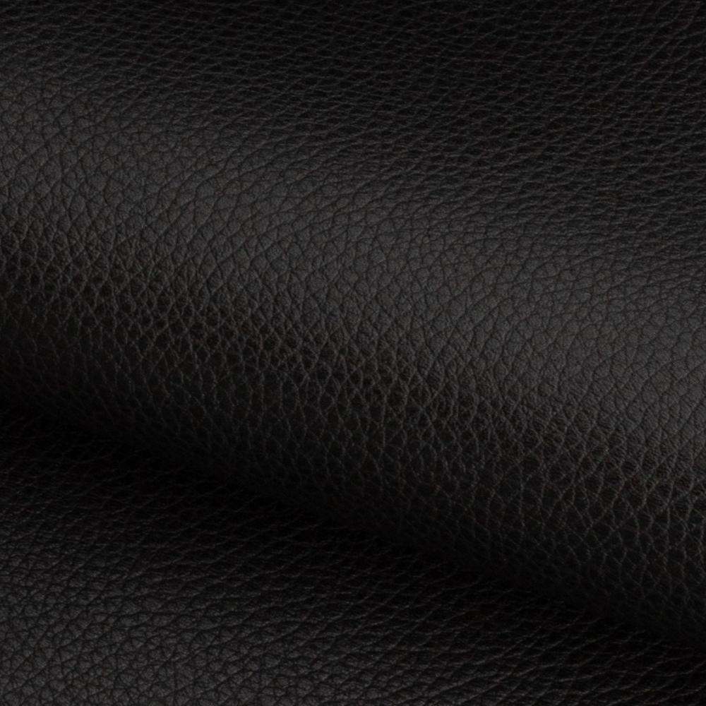 Darby black faux leather fabric from Tonic Living