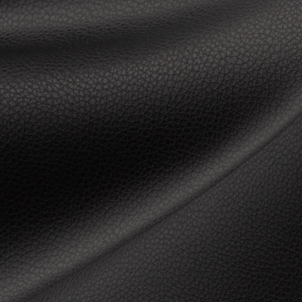 Darby black vegan faux leather fabric from Tonic Living