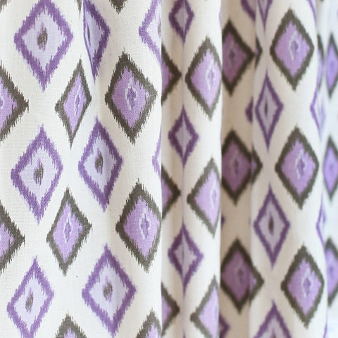 Diamond Ikat, Purple - tonic-living-usd