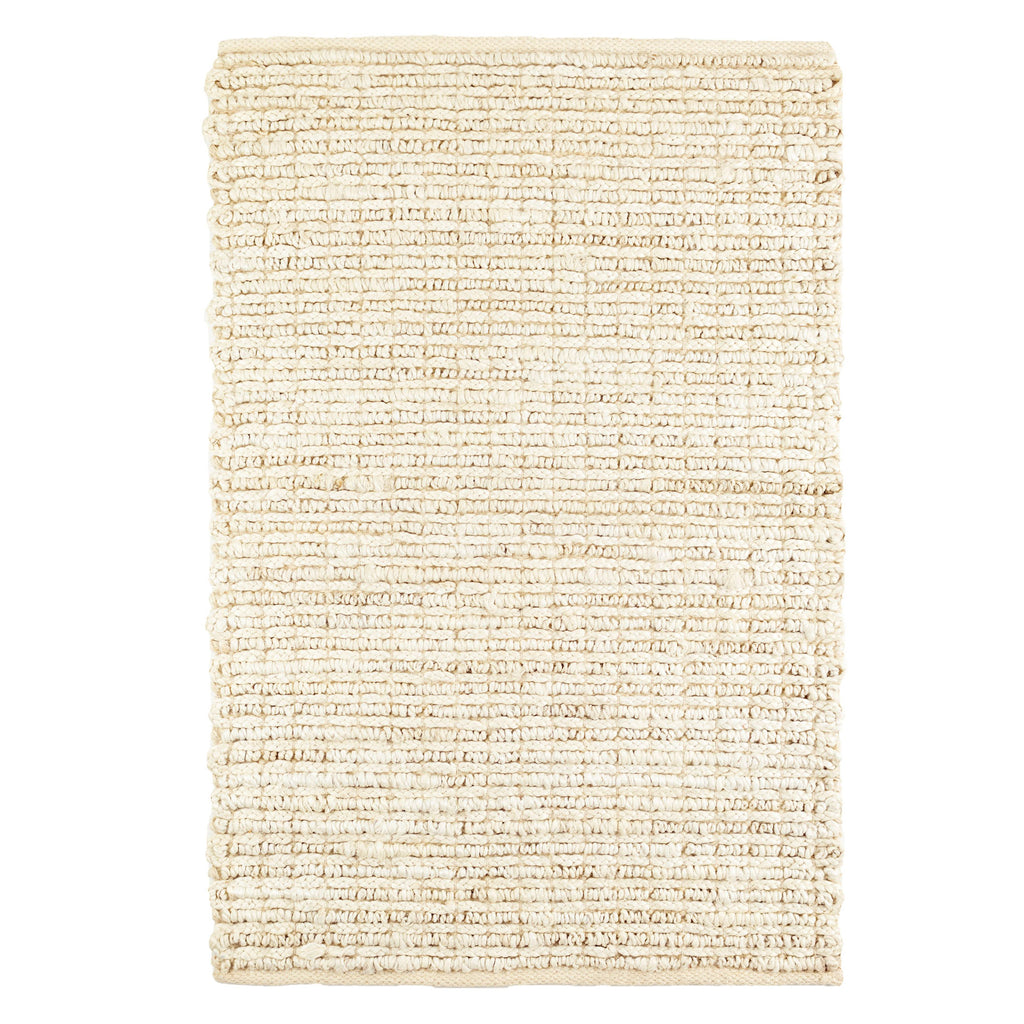 Dunes bleached oak woven jute Dash and Albert rug available at Tonic Living
