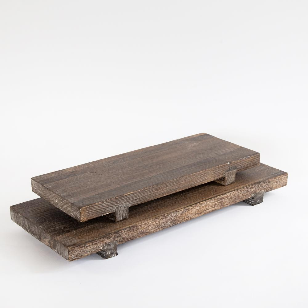 Edo wood display board in two sizes from Tonic Living