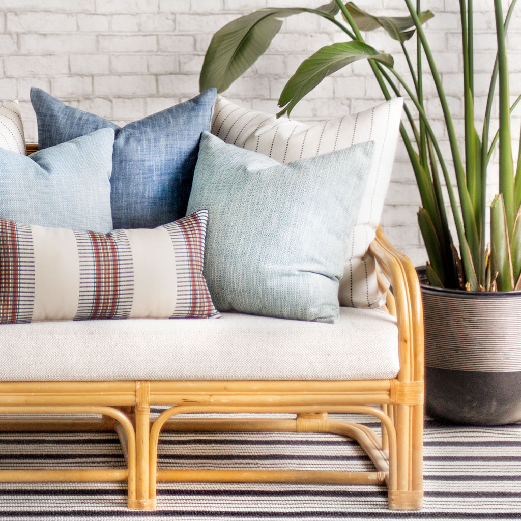 Modern indoor outdoor pillows from Tonic Living