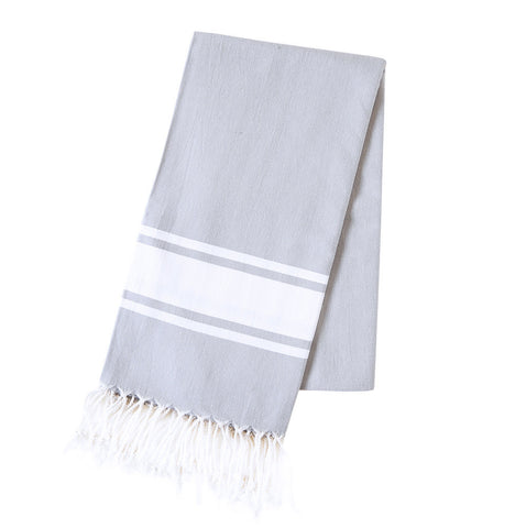Turkish Towel - Freeport, Grey
