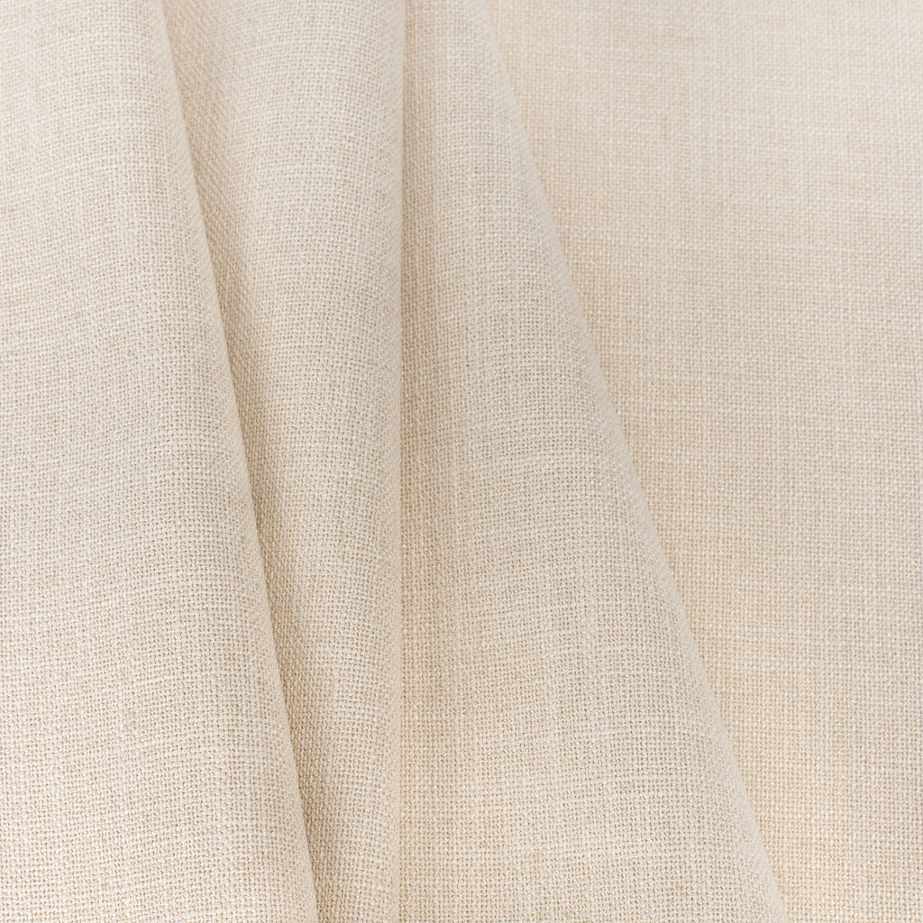 Grange Fabric Parchment, a high performance sandy beige upholstery fabric : close up view