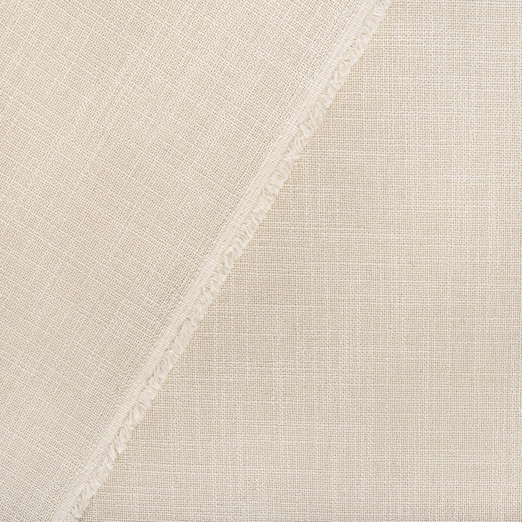Grange Fabric Parchment, a high performance sandy beige upholstery fabric : close up view 2