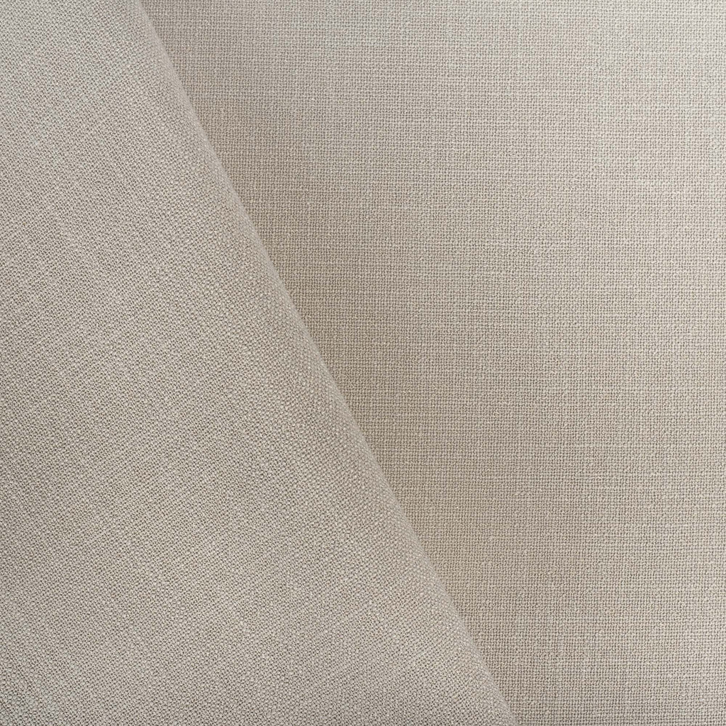 Grange Fabric Pumice, an earthy gray high performance upholstery fabric : close up view