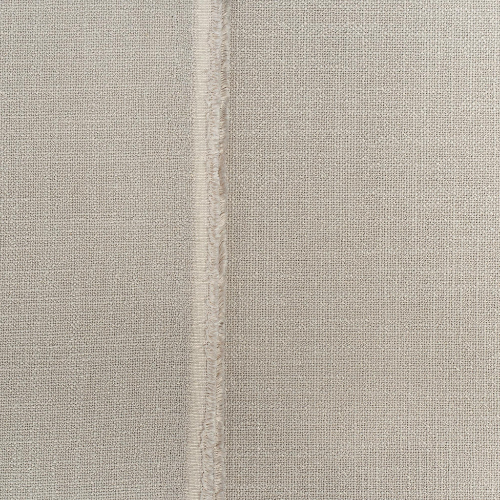 Grange Fabric Pumice, an earthy gray high performance upholstery fabric : close up view 2
