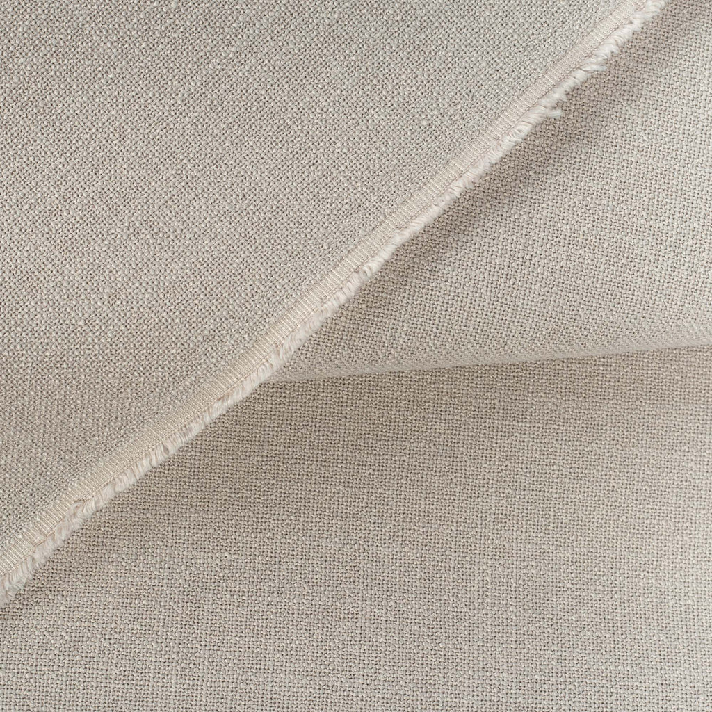 Grange Fabric Pumice, an earthy gray high performance upholstery fabric : close up view 3
