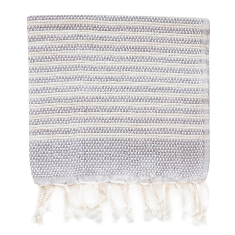 Turkish Towel - Hazleton, Dove Grey (Hand)