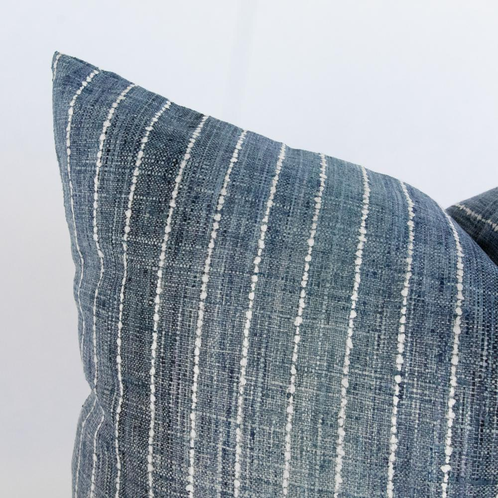 Hyden blue ombre stripe lumbar from Tonic Living