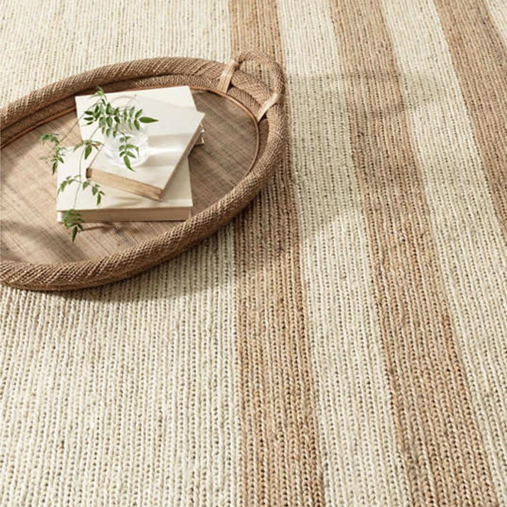 Ipswich Natural Woven Jute Rug (Dash & Albert)