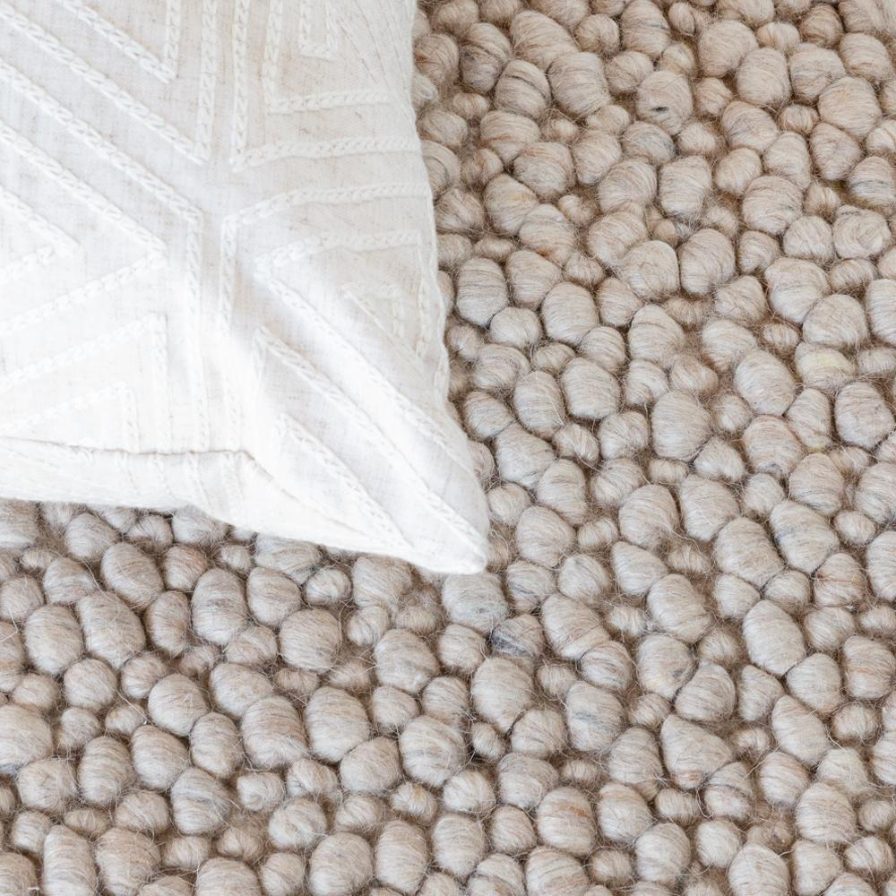 Jura natural, a beige wool rug from Tonic Living