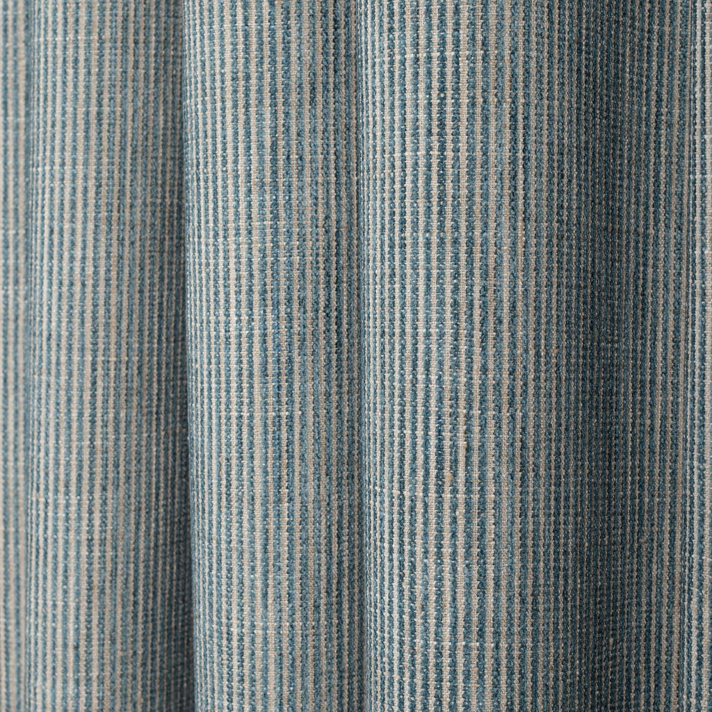 Marklin seaglass striped fabric from Tonic Living
