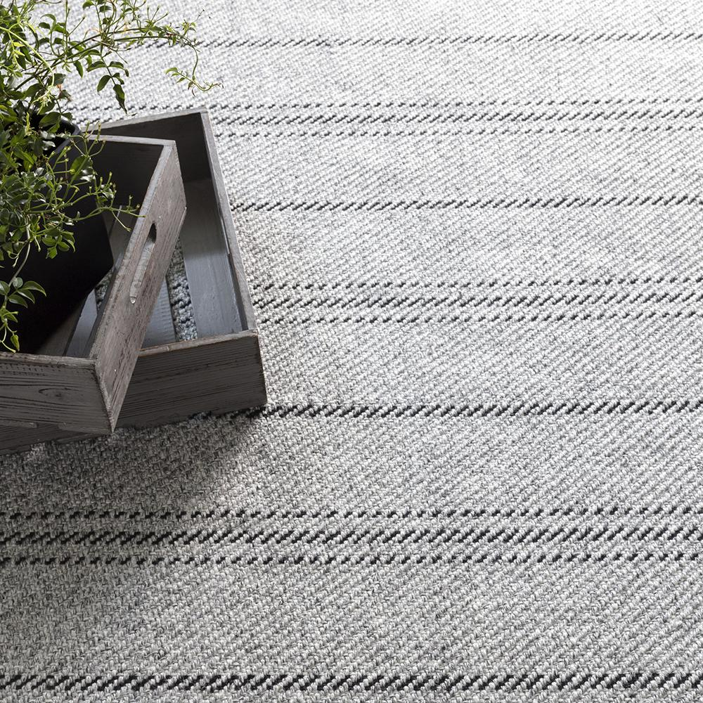 melange stripe grey black dash albert rug tonic living
