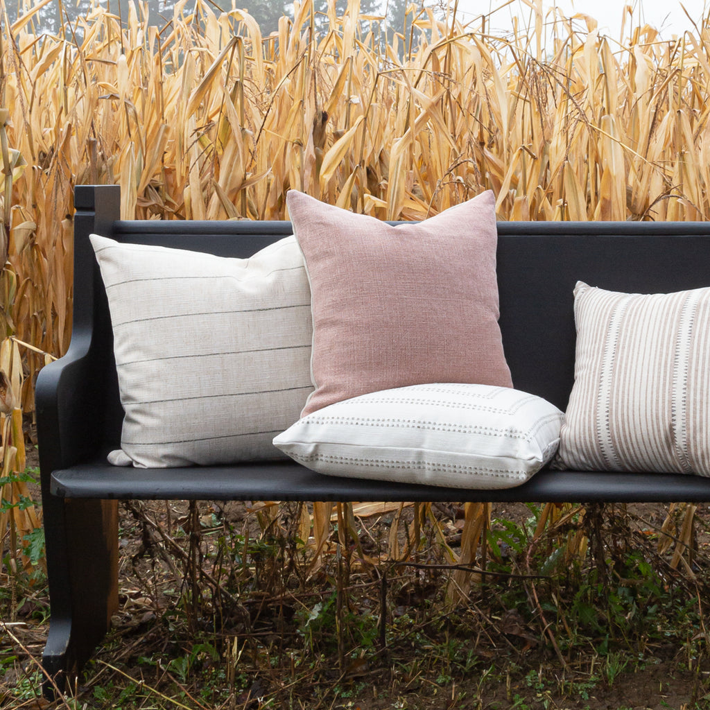 Modern Farmhouse pillow collection from Tonic Living