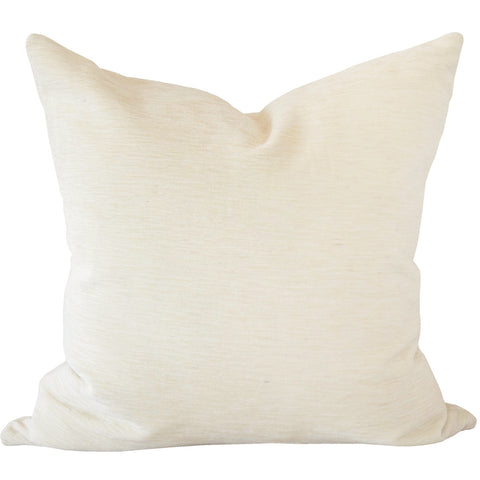 Moore Velvet, Salt - A gorgeously perfect off-white, cream velvet with a mohair wool like texture.