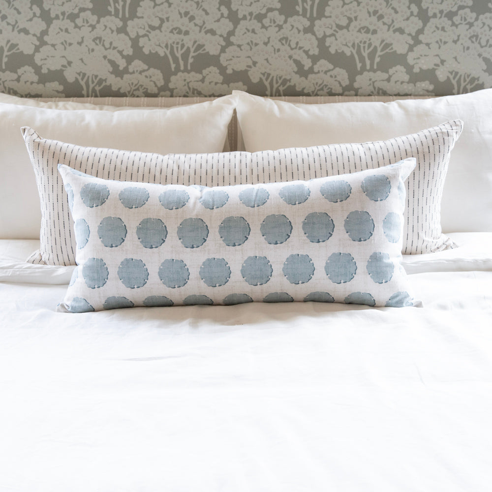 top of bed pillow bolster by Tonic Living
