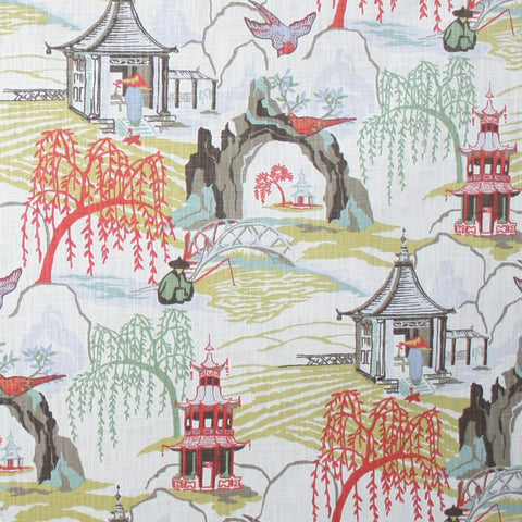 Neo Toile, Coral - tonic-living-usd