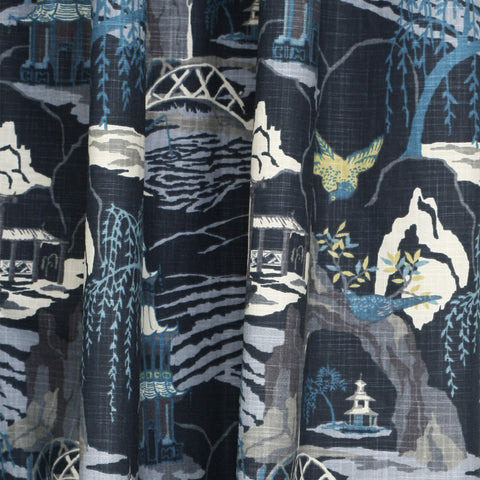 Neo Toile, Indigo - tonic-living-usd