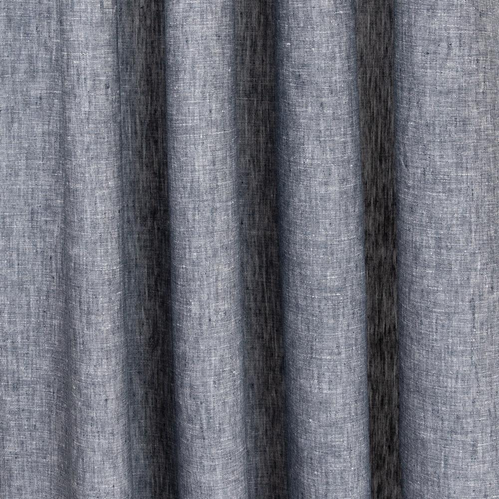Normandy denim blue lightweight linen fabric from Tonic Living