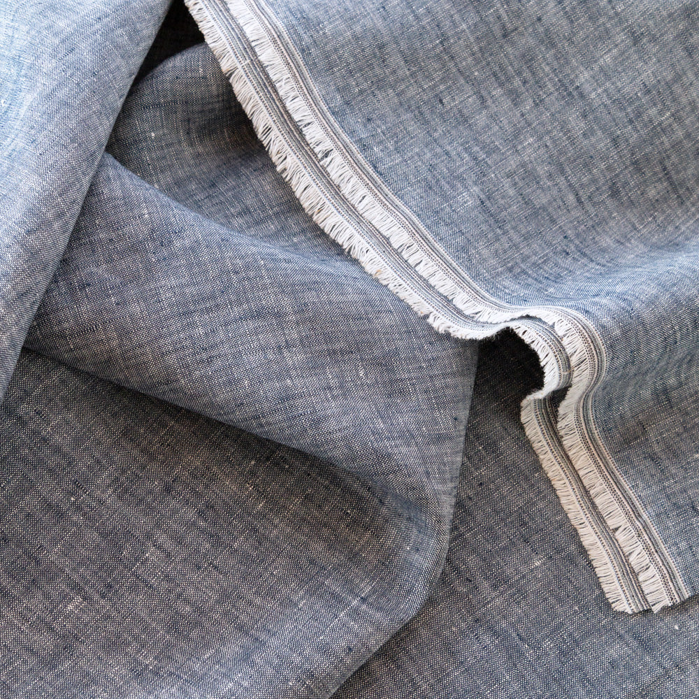 Normandy Linen, Denim Blue