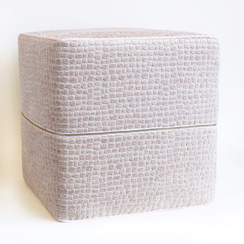 Easily add extra seating with our designer cube ottomans.  Perfect for your living room, bedroom, nursery, office or family room.