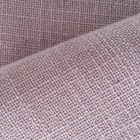 Peyton, Lilac - A dusty lilac slub weave. Suitable for drapery, roman blinds, upholstery, bedding accessories, pillows, cushions and other home decor items.