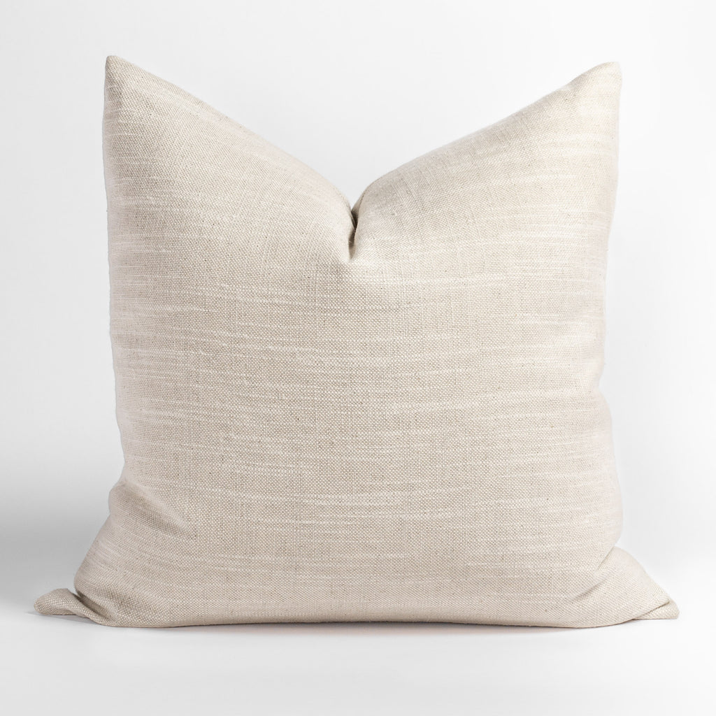 Quinto 22x22 Pillow, Natural Sand