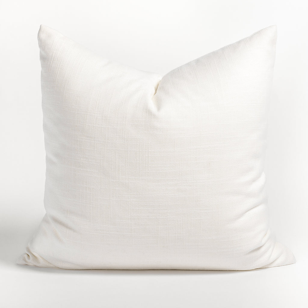 Quinto 22x22 Pillow, Vanilla