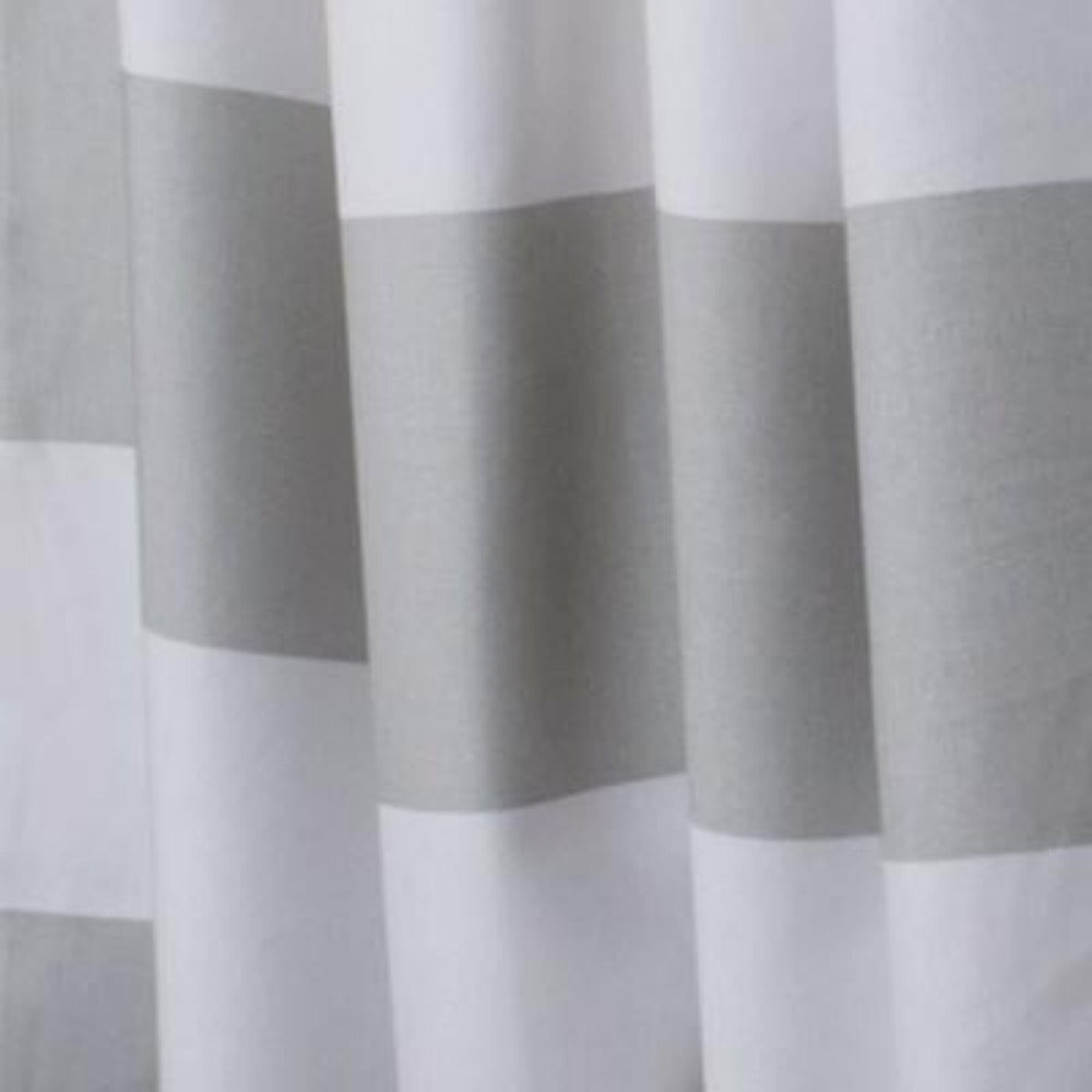 REMNANT - Railroad Stripe, Grey 100""
