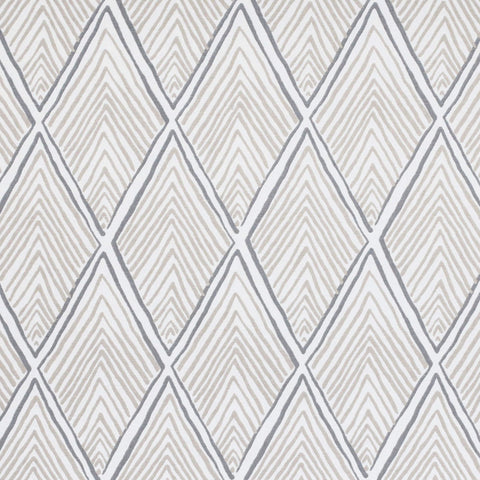 "REMNANT - Rhombi Forms, Linen 32"" - [Product_type] - Tonic Living"