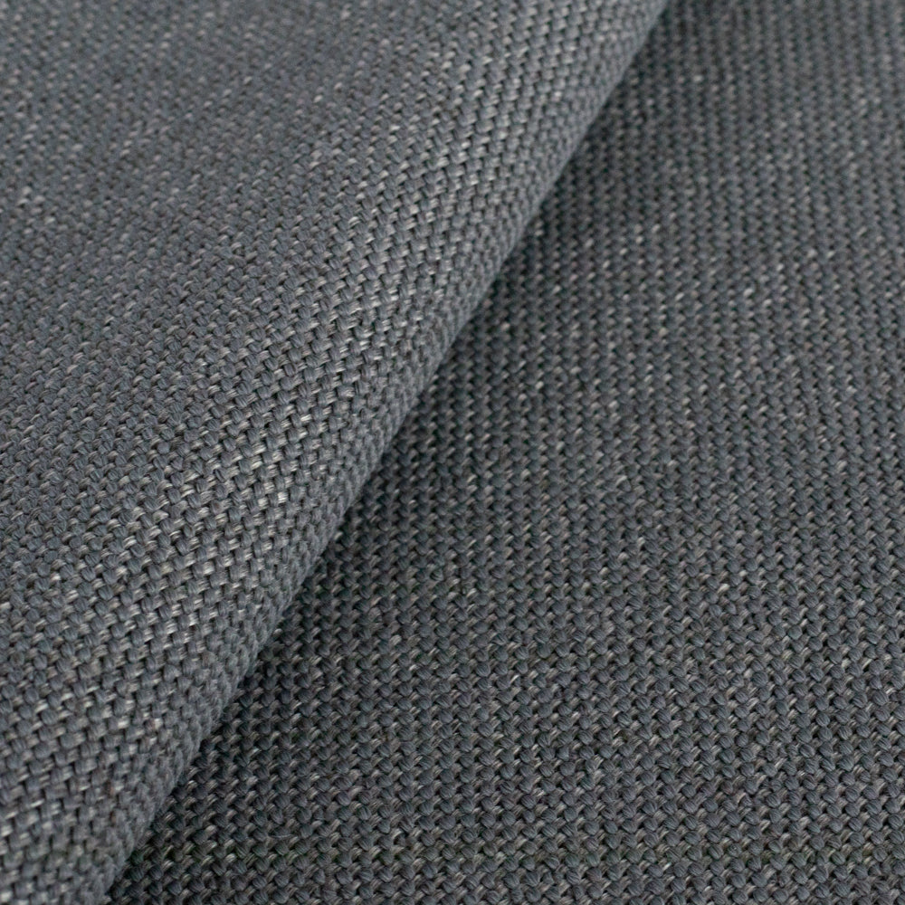Ridgley quarry gray performance fabric on a dining chair seat