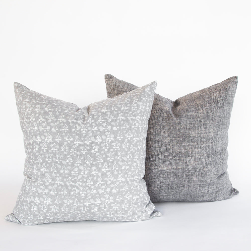Rochelle 20x20 Pillow, Grey