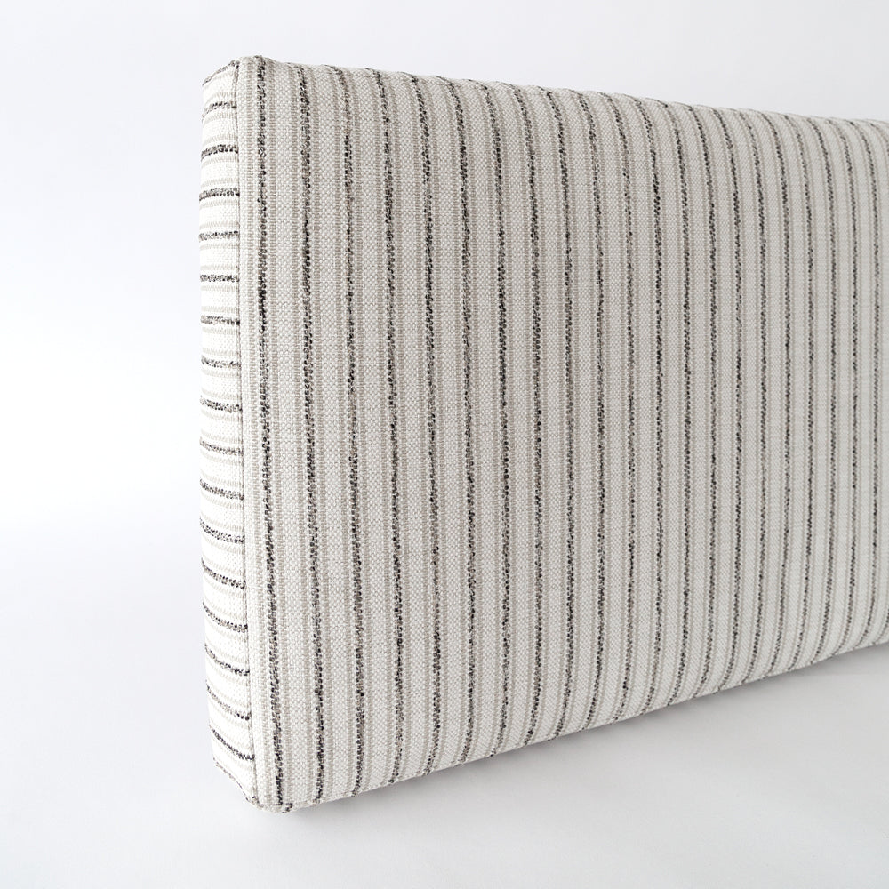 Enjoyable Rodin Stripe Foam Bench Cushion Natural Ocoug Best Dining Table And Chair Ideas Images Ocougorg
